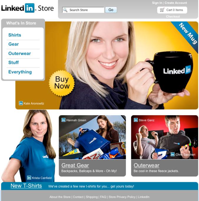 LinkedIn Company Store