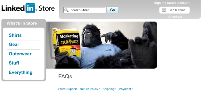 LinkedIn Gorilla